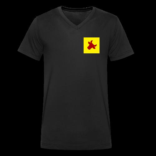 Coesfeld - Männer Bio-T-Shirt mit V-Ausschnitt von Stanley & Stella