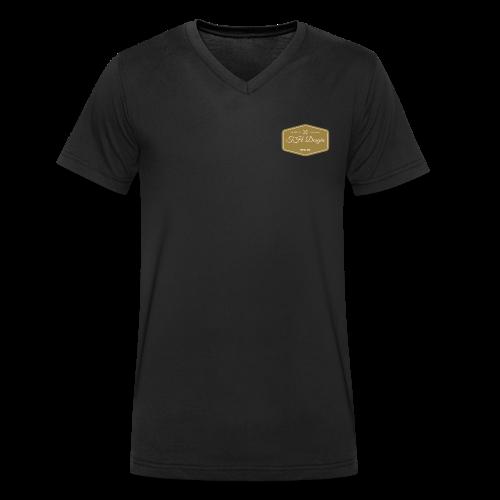 TH Design Fashion - Männer Bio-T-Shirt mit V-Ausschnitt von Stanley & Stella