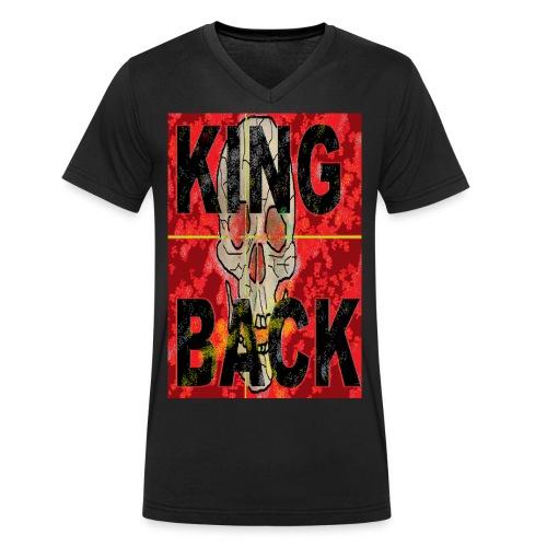 KING BACK - Männer Bio-T-Shirt mit V-Ausschnitt von Stanley & Stella