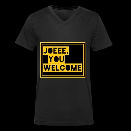 Joeee, you welcome - Mannen bio T-shirt met V-hals van Stanley & Stella