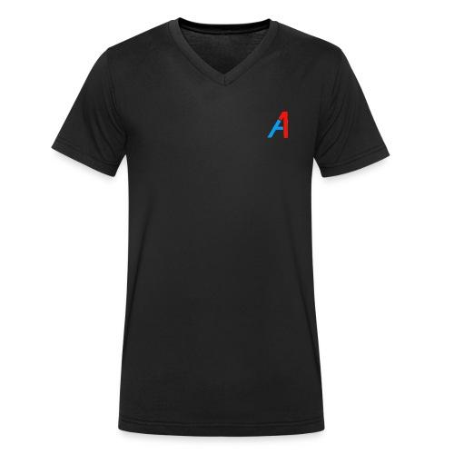 A1 Merch - Männer Bio-T-Shirt mit V-Ausschnitt von Stanley & Stella