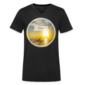 CC 20180309 062554 - Männer Bio-T-Shirt mit V-Ausschnitt von Stanley & Stella