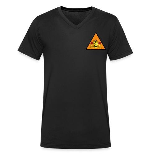 SKULL DESTROY - T-shirt bio col V Stanley & Stella Homme