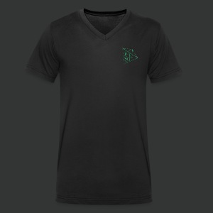 emerald universe Logo - Men's Organic V-Neck T-Shirt by Stanley & Stella