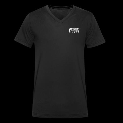 BeschissenesLeben2wp - Männer Bio-T-Shirt mit V-Ausschnitt von Stanley & Stella
