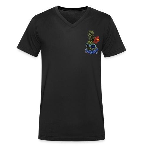 Paradiese - Männer Bio-T-Shirt mit V-Ausschnitt von Stanley & Stella