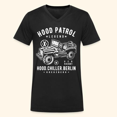 Hood Patrol Jeep Hood Chiller Berlin - Männer Bio-T-Shirt mit V-Ausschnitt von Stanley & Stella