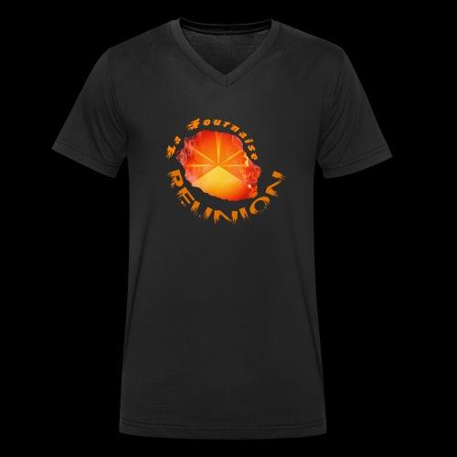 Collection Lo Mahavéli Volcan La Fournaise - T-shirt bio col V Stanley & Stella Homme