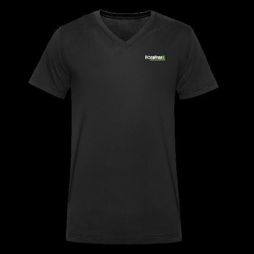 FotoFreax - Männer Bio-T-Shirt mit V-Ausschnitt von Stanley & Stella