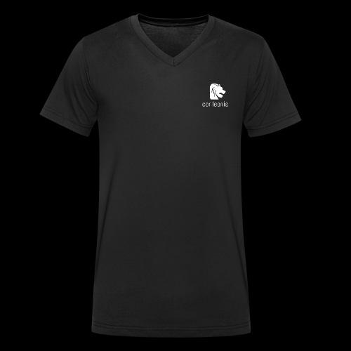 cor leonis - Männer Bio-T-Shirt mit V-Ausschnitt von Stanley & Stella
