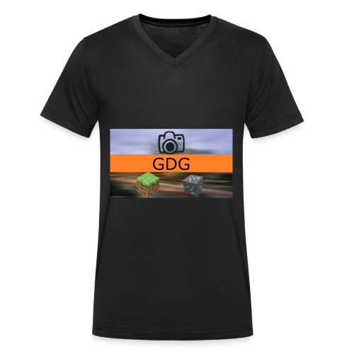 Shirt GDG - Mannen bio T-shirt met V-hals van Stanley & Stella