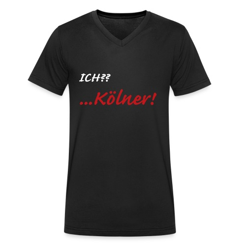 Kölner - Männer Bio-T-Shirt mit V-Ausschnitt von Stanley & Stella