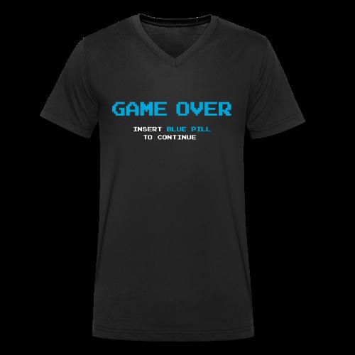 Game Over - Camiseta ecológica hombre con cuello de pico de Stanley & Stella
