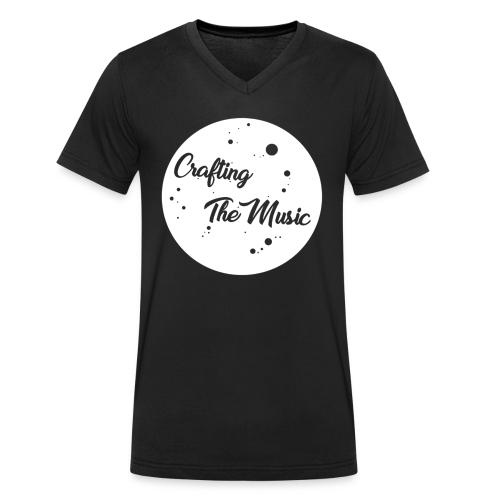 CraftingTheMusic - Men's Organic V-Neck T-Shirt by Stanley & Stella