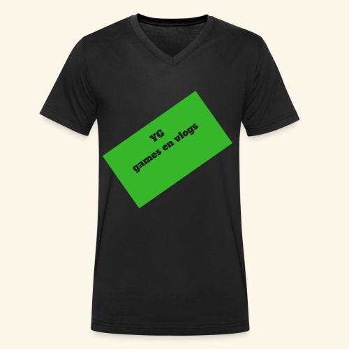 YGgames en vlogs - Mannen bio T-shirt met V-hals van Stanley & Stella
