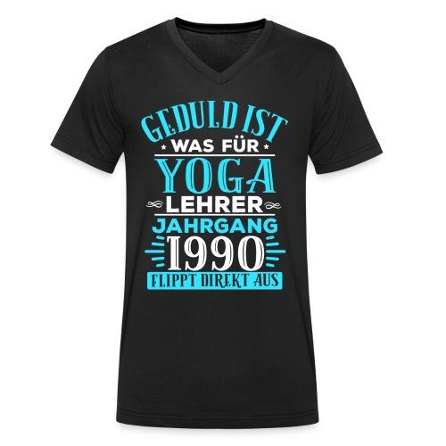 JAHRGANG 1990 / GEBURTSTAG / GESCHENK / BAUJAHR - Männer Bio-T-Shirt mit V-Ausschnitt von Stanley & Stella