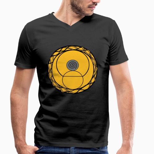 Rave Mandala Rave wear - Männer Bio-T-Shirt mit V-Ausschnitt von Stanley & Stella
