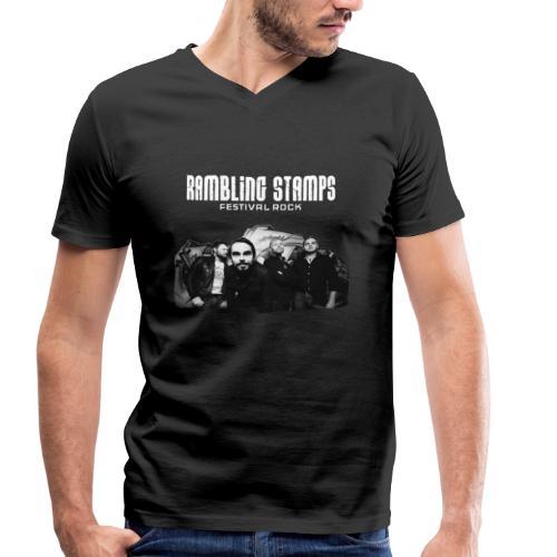 Stampsstuff - Shirt - black - Männer Bio-T-Shirt mit V-Ausschnitt von Stanley & Stella