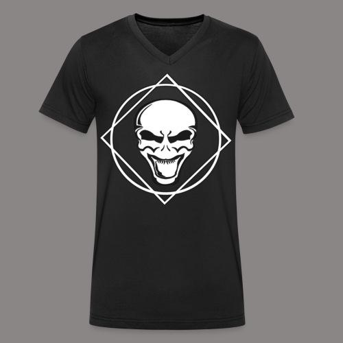 future kickz wit - Mannen bio T-shirt met V-hals van Stanley & Stella
