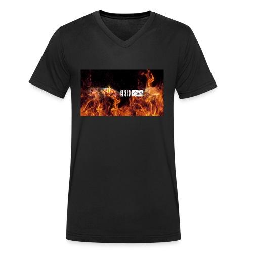 Barbeque Chef Merchandise - Men's Organic V-Neck T-Shirt by Stanley & Stella