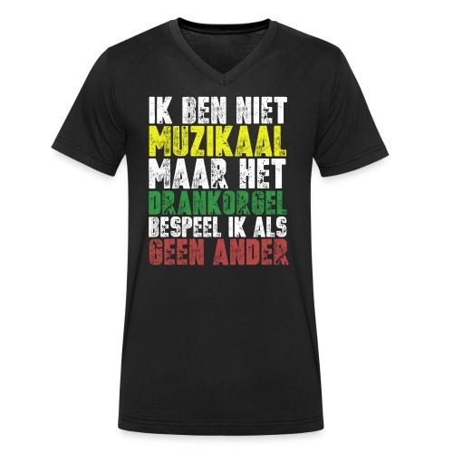 Drankorgel200DPI copy - Mannen bio T-shirt met V-hals van Stanley & Stella