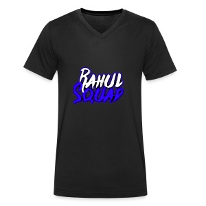 Rahul Squad Official Merchandise - Men's Organic V-Neck T-Shirt by Stanley & Stella