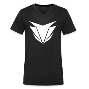 Pentagon Weiß - Männer Bio-T-Shirt mit V-Ausschnitt von Stanley & Stella