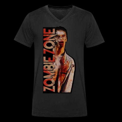 ZOMBIE ZONE - Männer Bio-T-Shirt mit V-Ausschnitt von Stanley & Stella