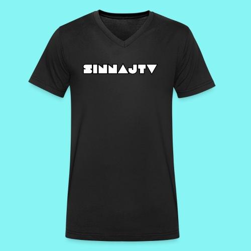 Neues Logo 2017 - Männer Bio-T-Shirt mit V-Ausschnitt von Stanley & Stella