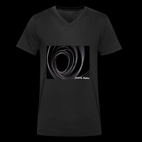 Lightpainting 2 - Männer Bio-T-Shirt mit V-Ausschnitt von Stanley & Stella