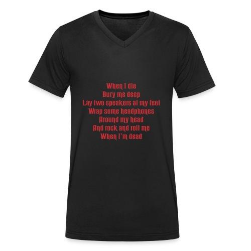 MANDY - Men's Organic V-Neck T-Shirt by Stanley & Stella