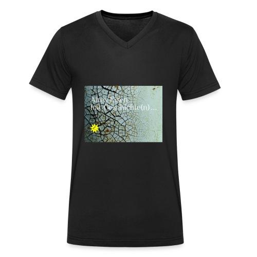 Altes Eisen hat Geschichte(n) ... - Männer Bio-T-Shirt mit V-Ausschnitt von Stanley & Stella