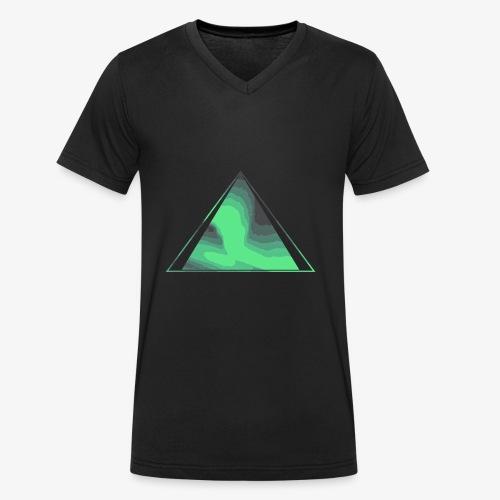 Aurora 10 - Men's Organic V-Neck T-Shirt by Stanley & Stella