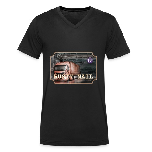 Cap Design RN 1 - Men's Organic V-Neck T-Shirt by Stanley & Stella