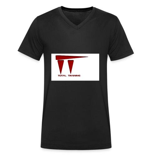 Totaltraining - T-shirt ecologica da uomo con scollo a V di Stanley & Stella