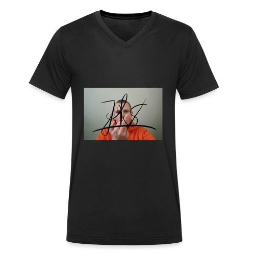 JiggyToby$woopFuck - Økologisk T-skjorte med V-hals for menn fra Stanley & Stella