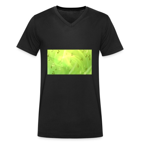 nihath vlogs merch now - Men's Organic V-Neck T-Shirt by Stanley & Stella