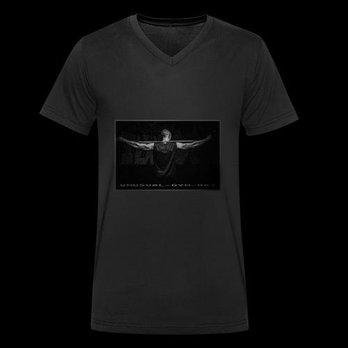 Unusual-Gym-Rat Gun Black - Männer Bio-T-Shirt mit V-Ausschnitt von Stanley & Stella