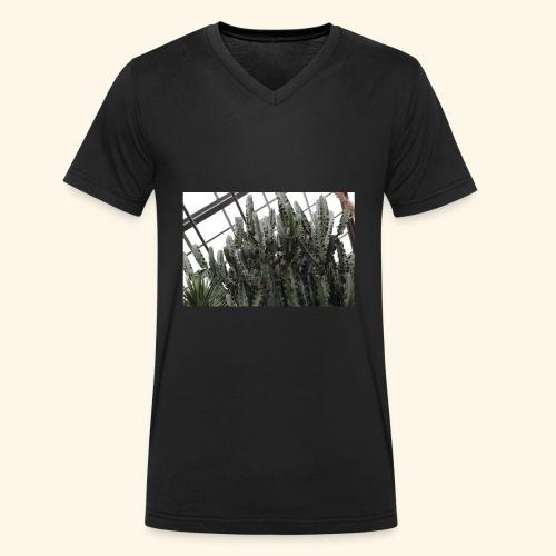 258C8957 EB5B 4CE3 8B02 50AE70CC87C4 - Männer Bio-T-Shirt mit V-Ausschnitt von Stanley & Stella