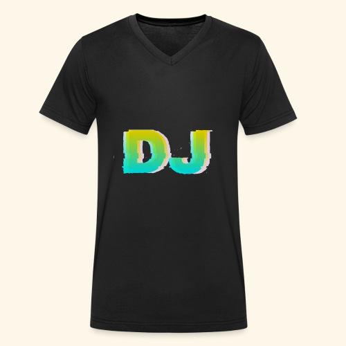 Dj - Ekologiczna koszulka męska z dekoltem w serek Stanley & Stella