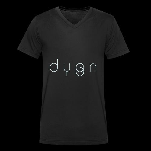 Dygn logo by Monsi Barrionuevo - Men's Organic V-Neck T-Shirt by Stanley & Stella