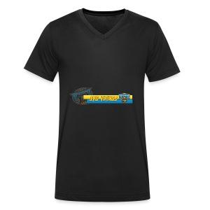 facebook - Männer Bio-T-Shirt mit V-Ausschnitt von Stanley & Stella