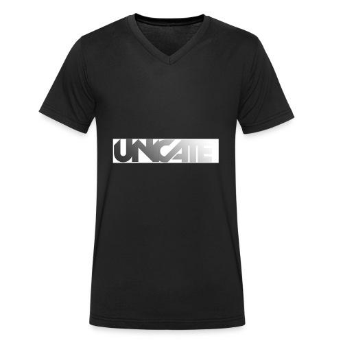 Unicate - Männer Bio-T-Shirt mit V-Ausschnitt von Stanley & Stella