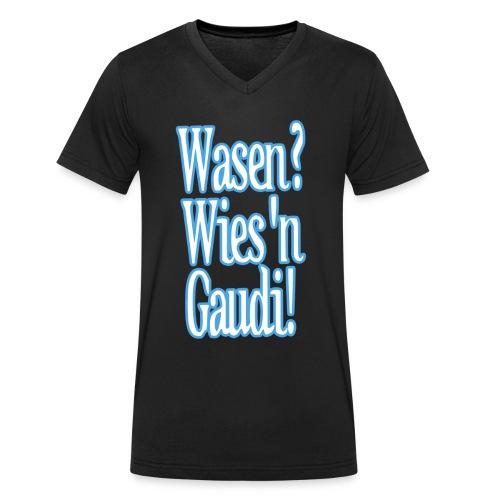 WasenWiesnGaudi Kopie - Männer Bio-T-Shirt mit V-Ausschnitt von Stanley & Stella