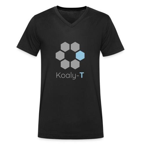 Koaly-T Logo - Männer Bio-T-Shirt mit V-Ausschnitt von Stanley & Stella