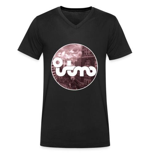 VIVE MADRID - Camiseta ecológica hombre con cuello de pico de Stanley & Stella