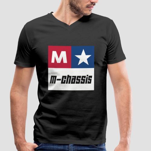 M-Chassis white - Männer Bio-T-Shirt mit V-Ausschnitt von Stanley & Stella