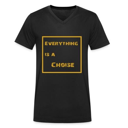 Your Choise! - Männer Bio-T-Shirt mit V-Ausschnitt von Stanley & Stella