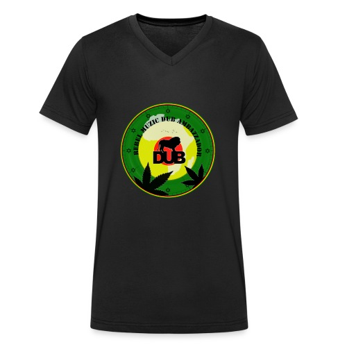 Rebel Muzic Dub Ambassador - Men's Organic V-Neck T-Shirt by Stanley & Stella