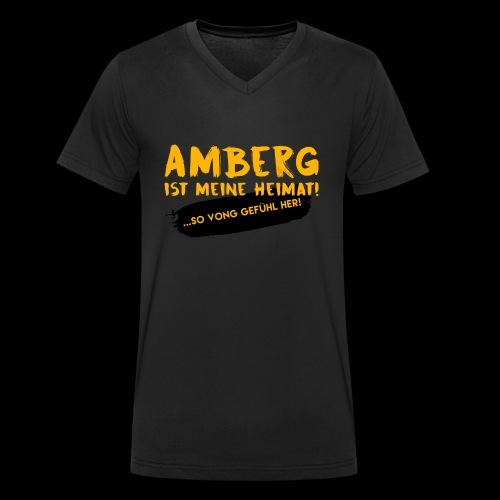Amberg vong Gefühl - Männer Bio-T-Shirt mit V-Ausschnitt von Stanley & Stella
